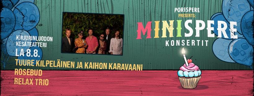 Minispere -konsertit 1.-8.8.2020