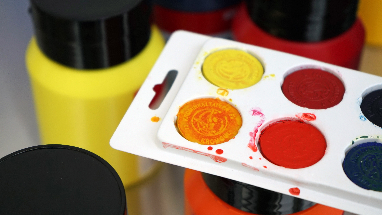 Lasten kesäkeskiviikko: Hei me maalataan! -akvarellimaalaustyöpaja | Porin taid