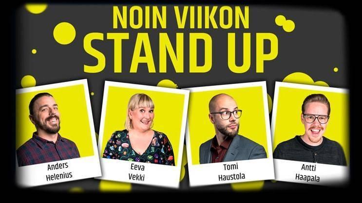 NOIN VIIKON STAND UP -KIERTUE