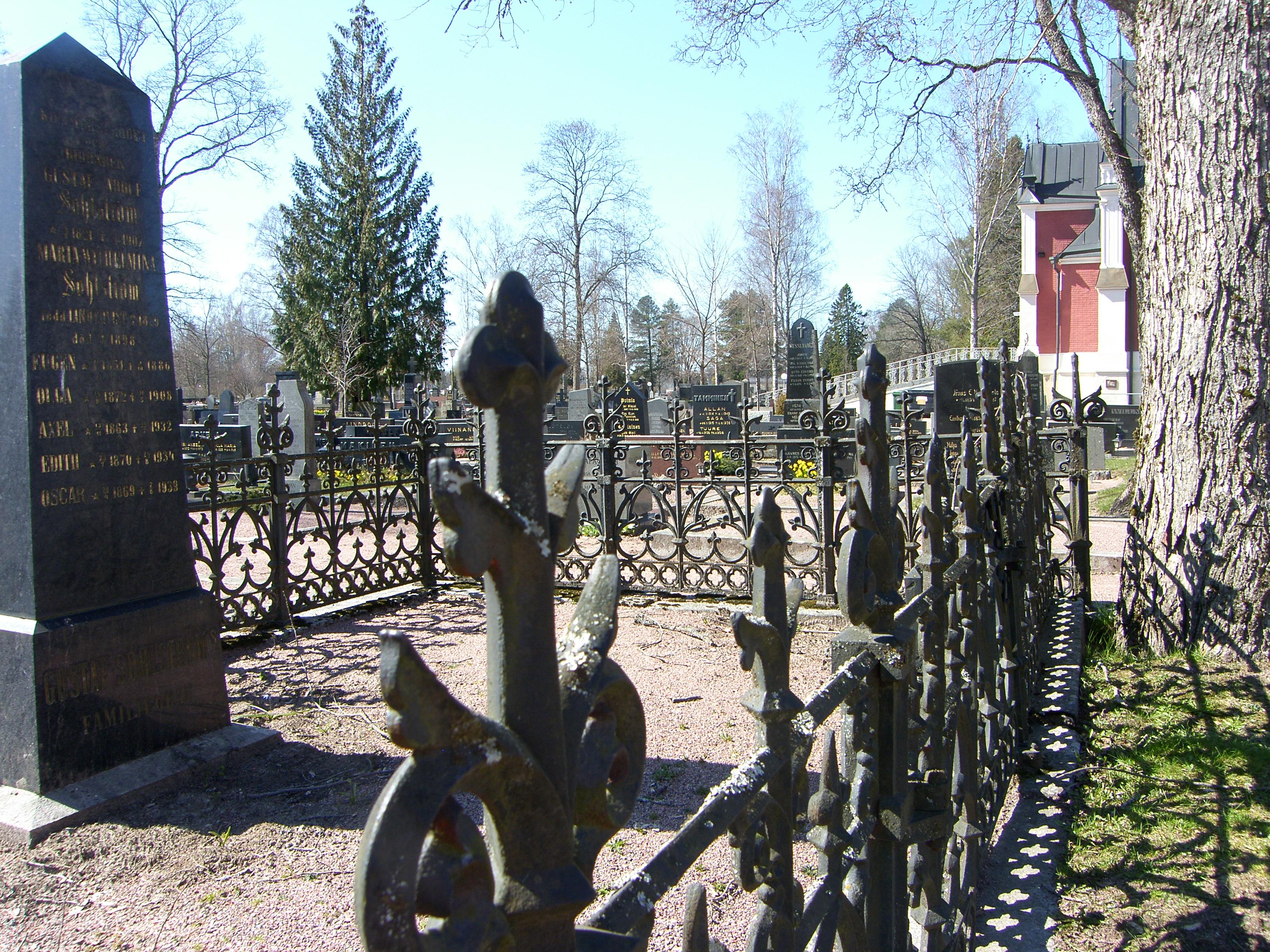 UUTUUS! Opastettu puistokävely Käppärän hautausmmaalla