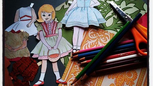 Lasten kesätyöpaja: Paperinukkepaja