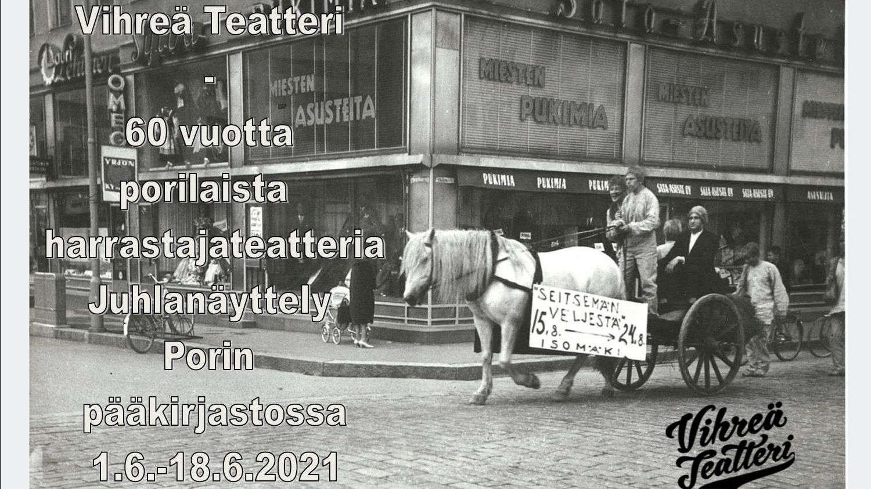 Vihreän Teatterin 60-vuotisjuhlanäyttely