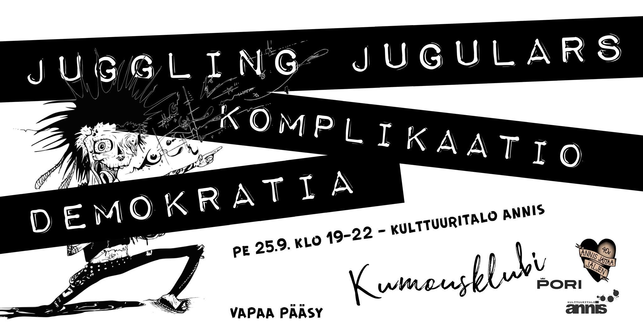 Kulttuuritalo Annis: Punk-ilta Kumousklubilla