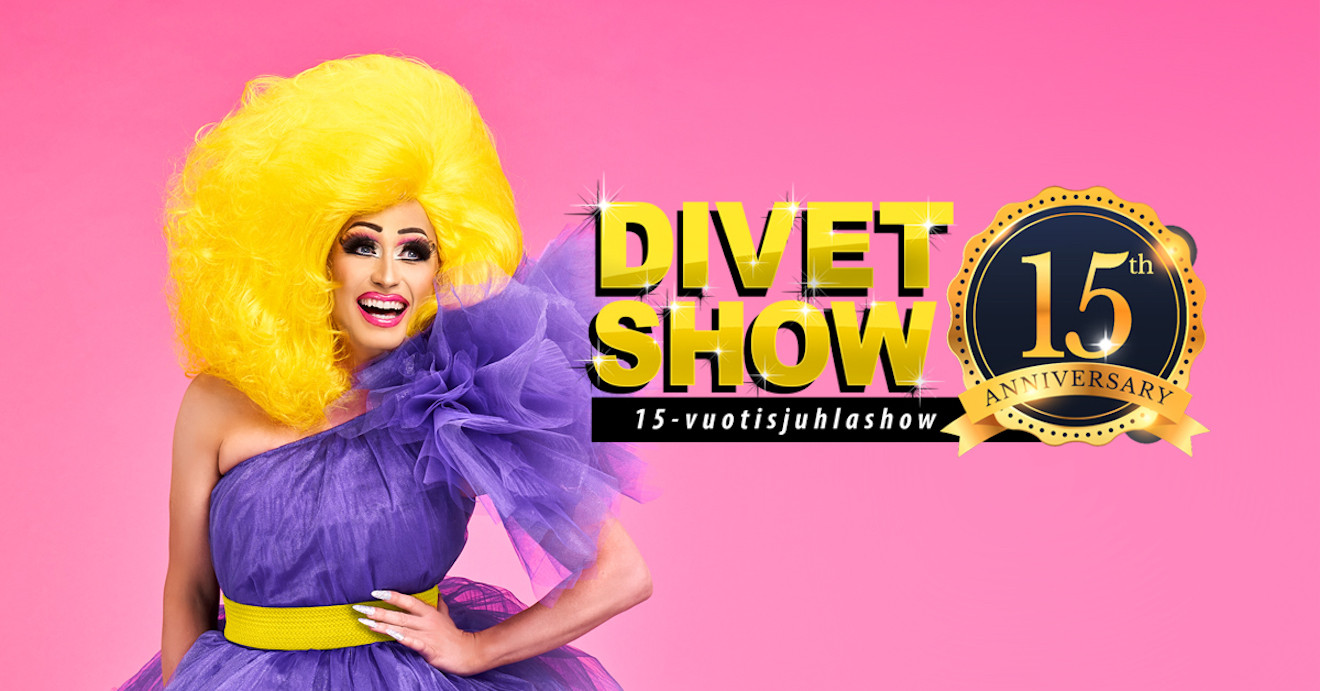 Divet Show – 15-vuotisjuhlashow