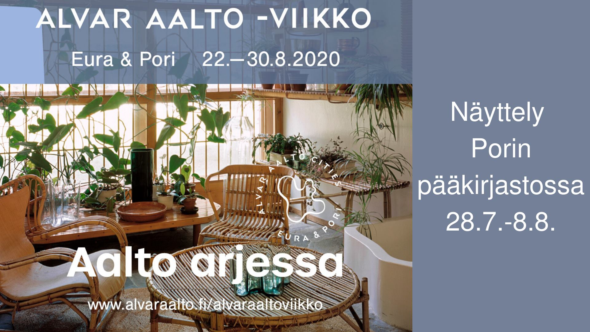 Alvar Aalto -viikon ennakkonäyttely