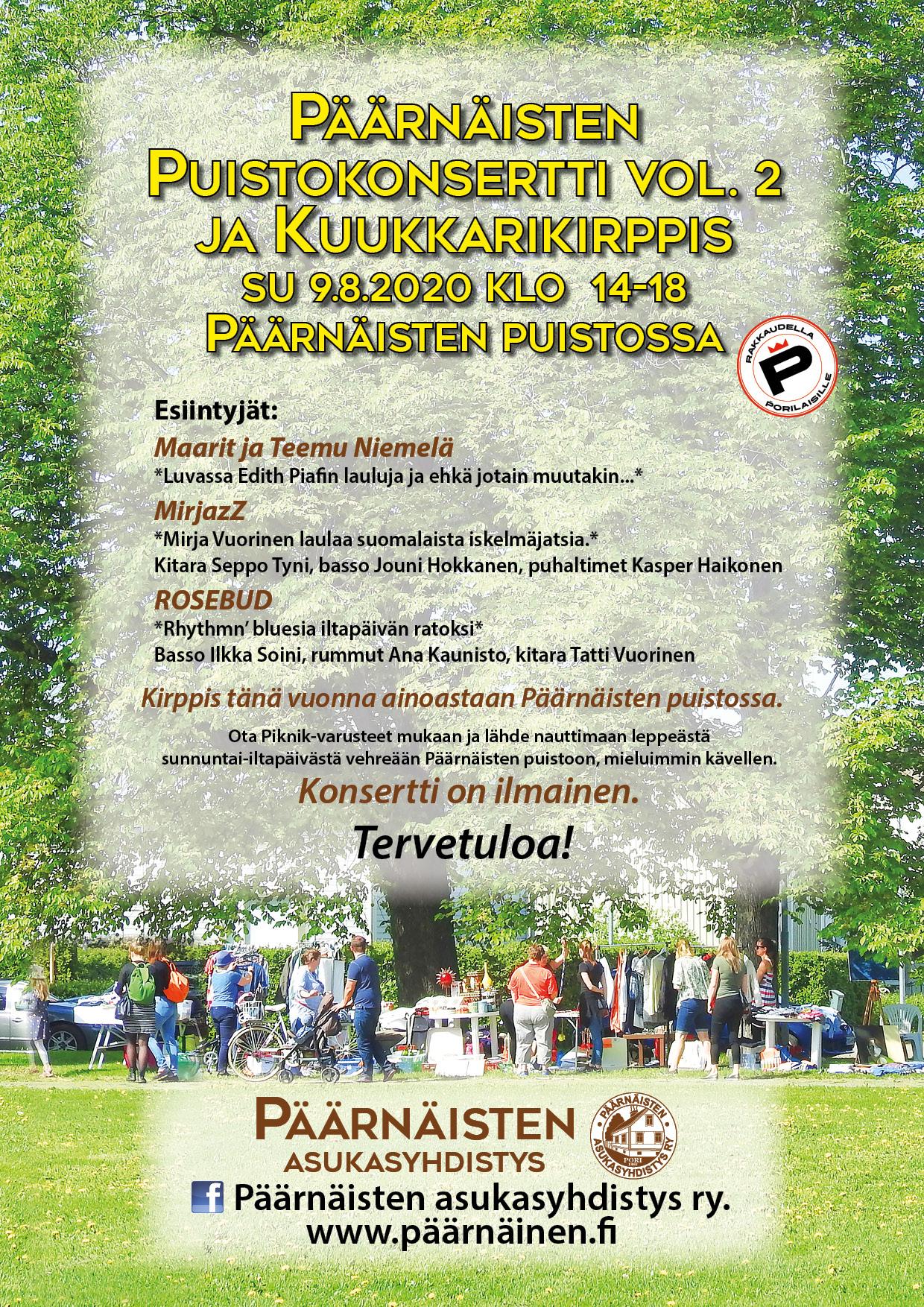 Päärnäisten Puistokonsertti vol2