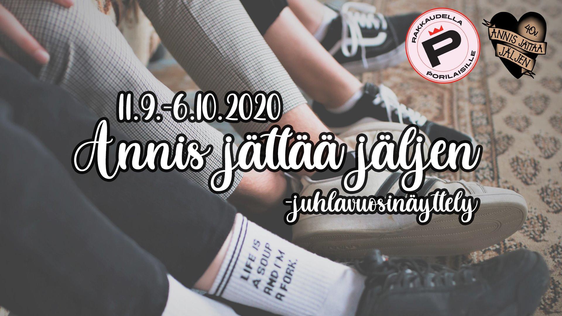 ANNIS JÄTTÄÄ JÄLJEN -juhlavuosinäyttely