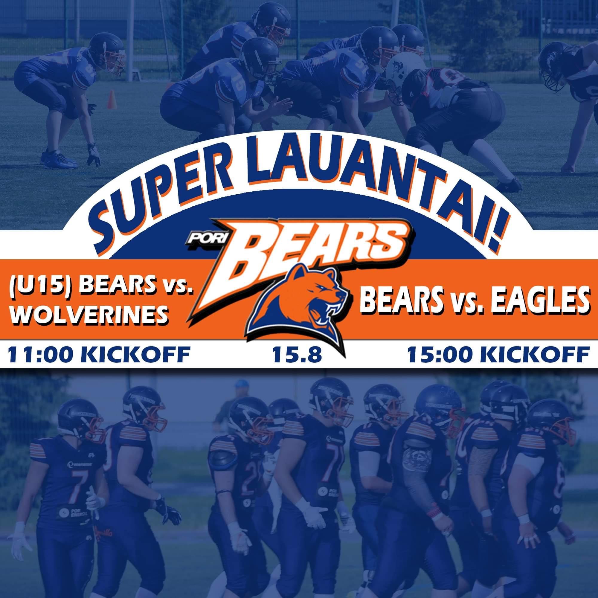 Bears Super Lauantai