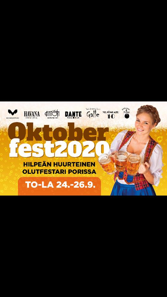 Ocktoberfest 2020 -juhla