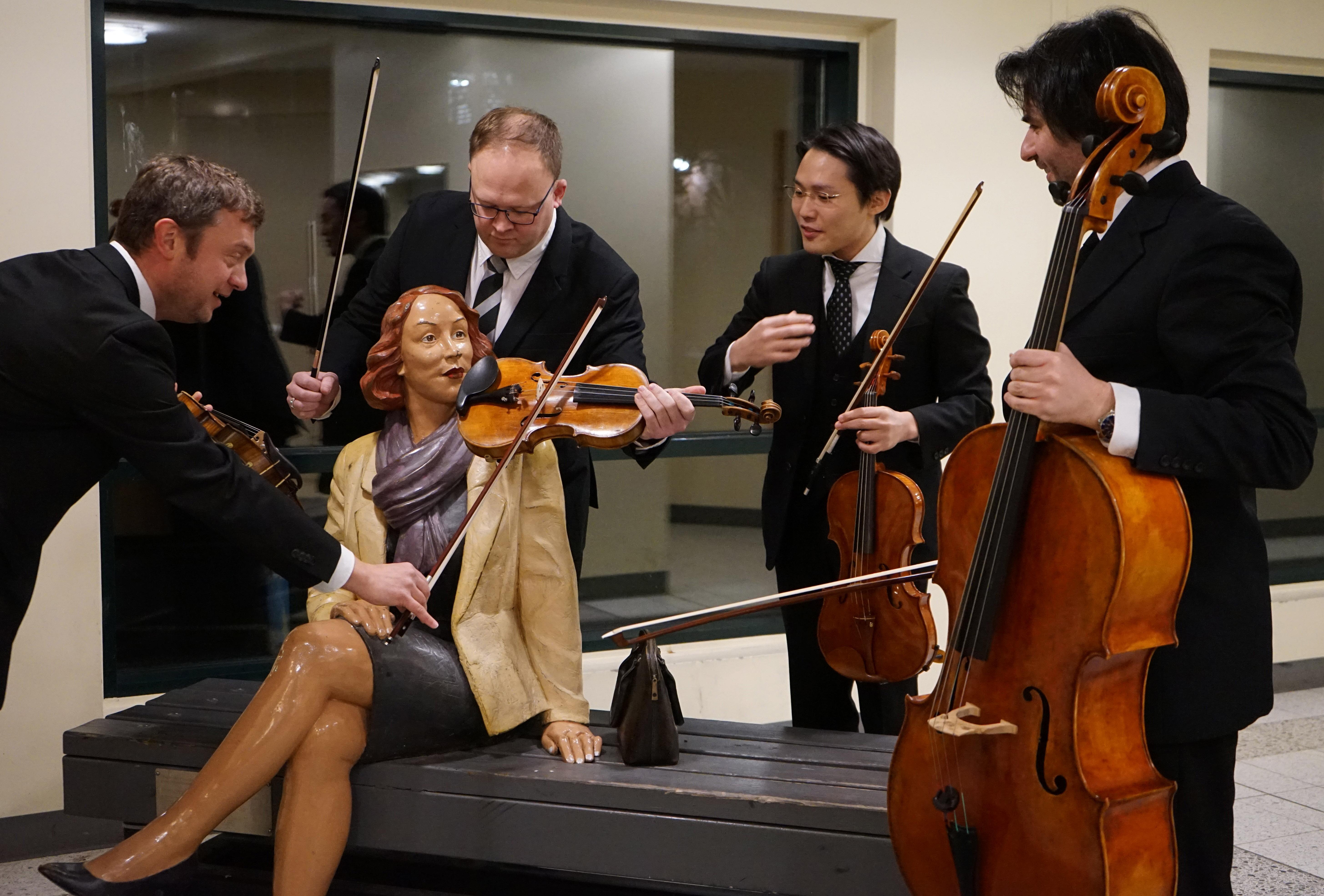 Illalliskonsertti: Palmgren-kvartetti